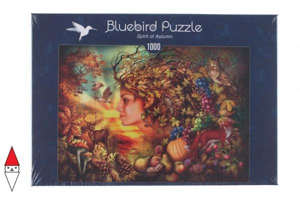 BLUEBIRD, BLUEBIRD-PUZZLE-70180, 3663384701801, PUZZLE TEMATICO BLUEBIRD AUTUNNO SPIRIT OF AUTUMN 1000 PZ
