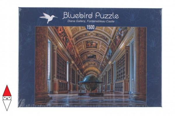 BLUEBIRD, BLUEBIRD-PUZZLE-70037, 3663384700378, PUZZLE EDIFICI BLUEBIRD GALLERIA DIANA GALLERY, FONTAINEBLEAU CASTLEEUR 1500 PZ