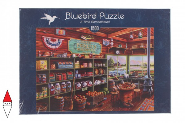 BLUEBIRD, BLUEBIRD-PUZZLE-70099, 3663384700996, PUZZLE TEMATICO BLUEBIRD NEGOZI A TIME REMEMBERED 1500 PZ