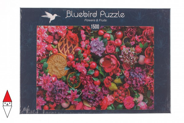 BLUEBIRD, BLUEBIRD-PUZZLE-70222, 3663384702228, PUZZLE PAESAGGI BLUEBIRD FIORI E GIARDINI FLOWERS & FRUITS 1500 PZ