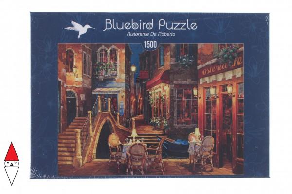 BLUEBIRD, BLUEBIRD-PUZZLE-70213, 3663384702136, PUZZLE PAESAGGI BLUEBIRD CITTA RISTORANTE DA ROBERTO 1500 PZ