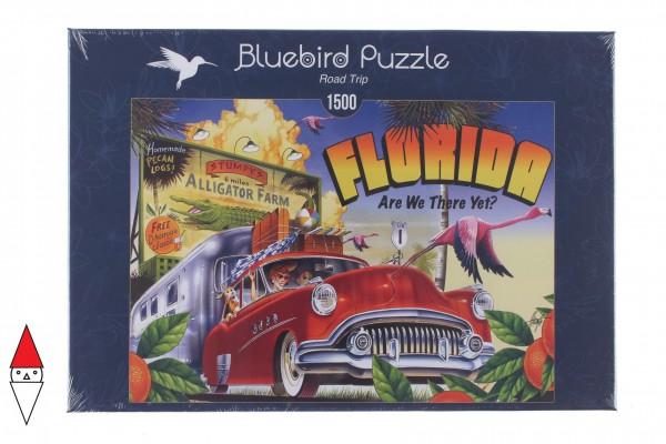 BLUEBIRD, BLUEBIRD-PUZZLE-70106, 3663384701061, PUZZLE OGGETTI BLUEBIRD VINTAGE ROAD TRIP 1500 PZ