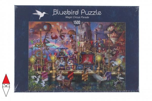 BLUEBIRD, BLUEBIRD-PUZZLE-70117, 3663384701177, PUZZLE TEMATICO BLUEBIRD CIRCO MAGIC CIRCUS PARADE 1500 PZ