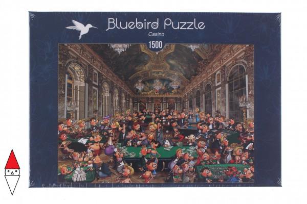 BLUEBIRD, BLUEBIRD-PUZZLE-70263, 3663384702631, PUZZLE TEMATICO BLUEBIRD CASINO CASINO 1500 PZ
