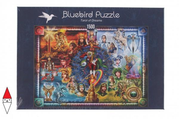 BLUEBIRD, BLUEBIRD-PUZZLE-70178, 3663384701788, PUZZLE GRAFICA BLUEBIRD FANTASY TAROT OF DREAMS 1500 PZ