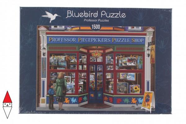 BLUEBIRD, BLUEBIRD-PUZZLE-70202, 3663384702020, PUZZLE TEMATICO BLUEBIRD NEGOZI PROFESSOR PUZZLES 1500 PZ