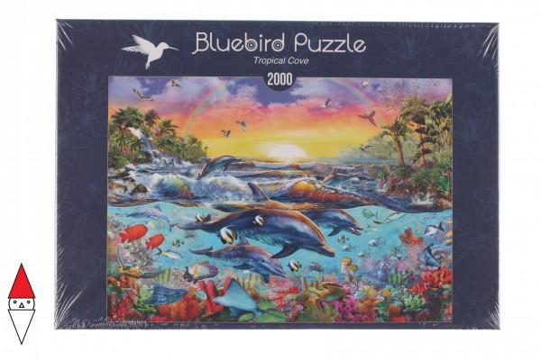 BLUEBIRD, BLUEBIRD-PUZZLE-70015, 3663384700156, PUZZLE PAESAGGI BLUEBIRD FONDALI MARINI TROPICAL COVE 2000 PZ