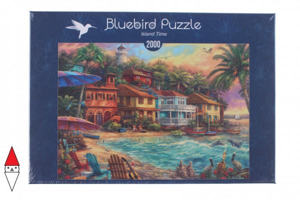 BLUEBIRD, BLUEBIRD-PUZZLE-70208, 3663384702082, PUZZLE PAESAGGI BLUEBIRD PORTI ISLAND TIME 2000 PZ