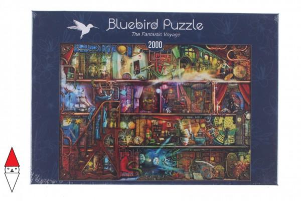 BLUEBIRD, BLUEBIRD-PUZZLE-70161, 3663384701610, PUZZLE OGGETTI BLUEBIRD LIBRERIA THE FANTASTIC VOYAGE 2000 PZ