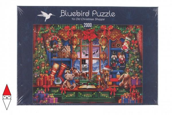 BLUEBIRD, BLUEBIRD-PUZZLE-70184, 3663384701849, PUZZLE TEMATICO BLUEBIRD NATALE YE OLD CHRISTMAS SHOPPE 2000 PZ