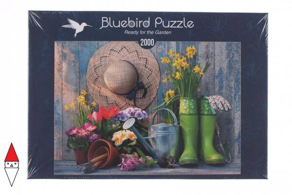 BLUEBIRD, BLUEBIRD-PUZZLE-70031, 3663384700316, PUZZLE TEMATICO BLUEBIRD MESTIERI READY FOR THE GARDEN 2000 PZ