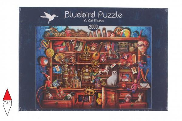 BLUEBIRD, BLUEBIRD-PUZZLE-70168, 3663384701689, PUZZLE OGGETTI BLUEBIRD GIOCATTOLI YE OLD SHOPPE 2000 PZ