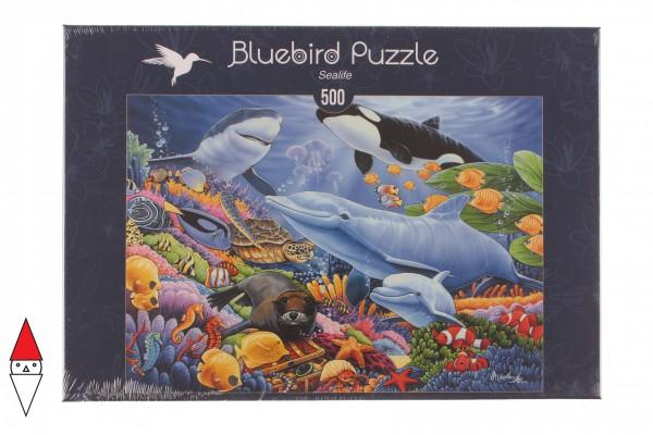 BLUEBIRD, BLUEBIRD-PUZZLE-70084, 3663384700842, PUZZLE PAESAGGI BLUEBIRD FONDALI MARINI SEALIFE 500 PZ