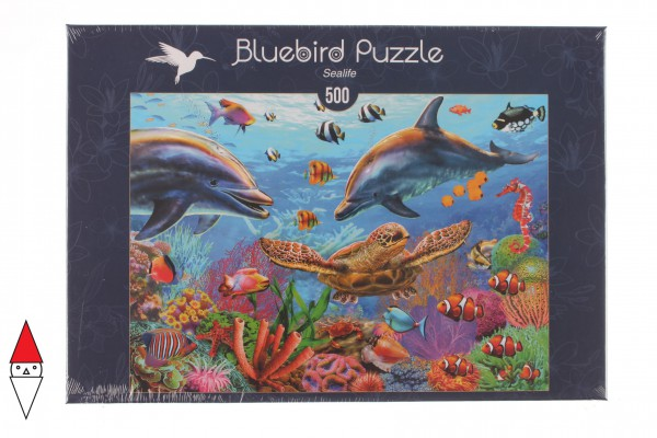 BLUEBIRD, BLUEBIRD-PUZZLE-70189, 3663384701894, PUZZLE PAESAGGI BLUEBIRD FONDALI MARINI SEALIFE 500 PZ