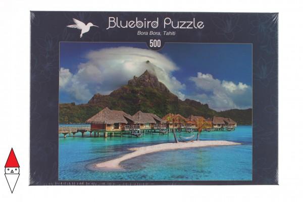 BLUEBIRD, BLUEBIRD-PUZZLE-70005, 3663384700057, PUZZLE PAESAGGI BLUEBIRD MARE E OCEANO BORA BORA, TAHITIEUR 500 PZ