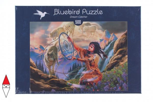 BLUEBIRD, BLUEBIRD-PUZZLE-70127, 3663384701276, PUZZLE TEMATICO BLUEBIRD FANTASY DREAM CATCHER 500 PZ