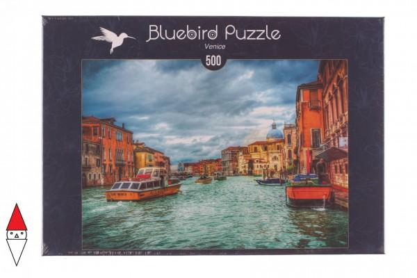 BLUEBIRD, BLUEBIRD-PUZZLE-70022, 3663384700224, PUZZLE PAESAGGI BLUEBIRD CITTA VENICE VENEZIA 500 PZ