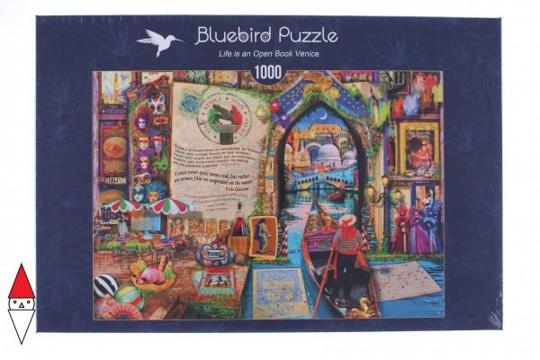 BLUEBIRD, BLUEBIRD-PUZZLE-70242-P, 3663384702426, PUZZLE TEMATICO BLUEBIRD CITTA 1000 PZ