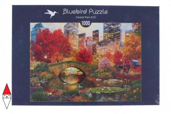 BLUEBIRD, BLUEBIRD-PUZZLE-70244-P, 3663384702440, PUZZLE PAESAGGI BLUEBIRD CITTA CENTRAL PARK NYC 1000 PZ