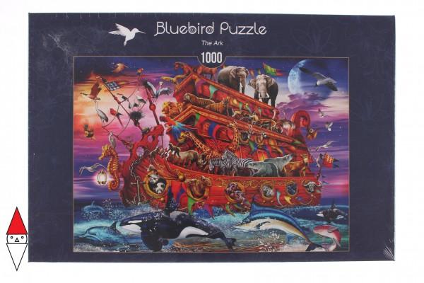 BLUEBIRD, BLUEBIRD-PUZZLE-70235-P, 3663384702358, PUZZLE ANIMALI BLUEBIRD ANIMALI VARI THE ARK 1000 PZ